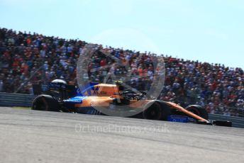 World © Octane Photographic Ltd. Formula 1 – United States GP - Race. McLaren MCL34 – Lando Norris. Circuit of the Americas (COTA), Austin, Texas, USA. Sunday 3rd November 2019.