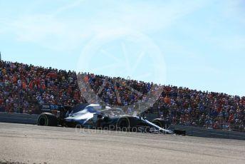 World © Octane Photographic Ltd. Formula 1 – United States GP – Race Mercedes AMG Petronas Motorsport AMG F1 W10 EQ Power+ - Lewis Hamilton. Circuit of the Americas (COTA), Austin, Texas, USA. Sunday 3rd November 2019.