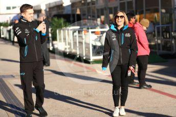 World © Octane Photographic Ltd. Formula 1 - United States GP - Paddock. Claire Williams - Deputy Team Principal of ROKiT Williams Racing. Circuit of the Americas (COTA), Austin, Texas, USA. Friday 1st November 2019.