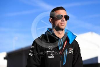 World © Octane Photographic Ltd. Formula 1 – United States GP - Paddock. ROKiT Williams Racing FW 42 - Nicholas Latifi. Circuit of the Americas (COTA), Austin, Texas, USA. Friday 1st November 2019.
