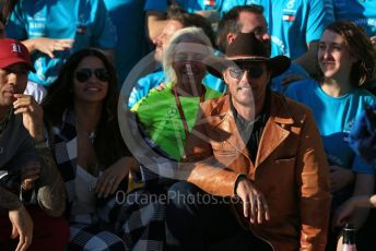 World © Octane Photographic Ltd. Formula 1 – United States GP – 6th Drivers' World Championship celebration. Matthew McConaughey. Circuit of the Americas (COTA), Austin, Texas, USA. Sunday 3rd November 2019.
