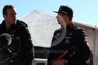World © Octane Photographic Ltd. Formula 1 – United States GP - Paddock. Aston Martin Red Bull Racing RB15 – Max Verstappen. Circuit of the Americas (COTA), Austin, Texas, USA. Saturday 2nd November 2019.