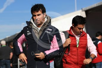 World © Octane Photographic Ltd. Formula 1 – United States GP - Paddock. SportPesa Racing Point RP19 - Sergio Perez. Circuit of the Americas (COTA), Austin, Texas, USA. Saturday 2nd November 2019.