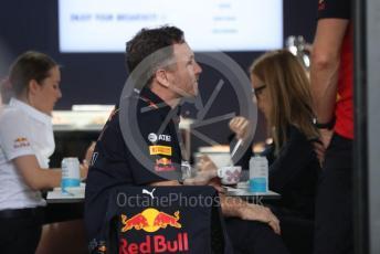 World © Octane Photographic Ltd. Formula 1 – F1 Australian Grand Prix breakdown. Christian Horner - Team Principal of Red Bull Racing. Melbourne, Australia. Friday 13th March 2020.