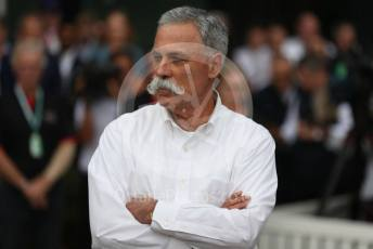 World © Octane Photographic Ltd. Formula 1 - Hungarian GP – Friday FIA Special Press Conference. Melbourne, Australia. Chase Carey - Chief Executive Officer of the Formula One Group. Friday 13th March 2020.