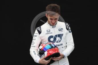 World © Octane Photographic Ltd. Formula 1 – F1 Australian Grand Prix - FIA photocall. Scuderia AlphaTauri Honda AT01 – Pierre Gasly. Melbourne, Australia. Thursday 12th March 2020.