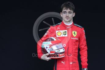 World © Octane Photographic Ltd. Formula 1 – F1 Australian Grand Prix - FIA photocall. Scuderia Ferrari SF1000 – Charles Leclerc. Melbourne, Australia. Thursday 12th March 2020.