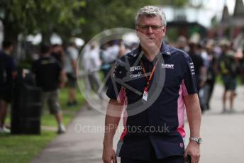 World © Octane Photographic Ltd. Formula 1 – F1 Australian Grand Prix - Setup and arrivals. Otmar Szafnauer - Team Principal of BWT Racing Point F1 Team. Melbourne, Australia. Thursday 12th March 2020.