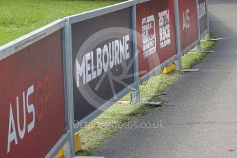 World © Octane Photographic Ltd. Formula 1 – F1 Australian Grand Prix . Empty Melbourne walk . Melbourne, Australia. Wednesday 11th March 2020.