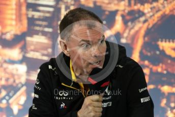 World © Octane Photographic Ltd. Formula 1 – F1 Pre-season Test 1 - Day 3 Press Conference. Alan Permane - Sporting Director Renault Sport F1 Team. Circuit de Barcelona-Catalunya, Spain. Friday 21st February 2020.