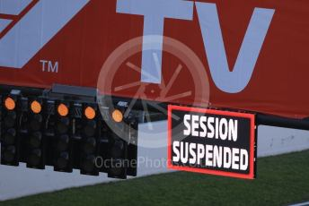 World © Octane Photographic Ltd. Formula 1 – F1 Pre-season Test 1 - Day 3. Red flag caused by Sebastian Vettel's Ferrari SF1000 stopping on track. Circuit de Barcelona-Catalunya, Spain. Friday 21st February 2020.