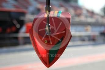 World © Octane Photographic Ltd. Formula 1 – F1 Pre-season Test 1 - Day 3. Scuderia Ferrari traffic light system. Circuit de Barcelona-Catalunya, Spain. Friday 21st February 2020.