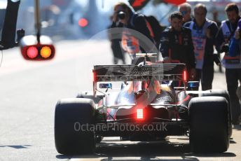 World © Octane Photographic Ltd. Formula 1 – F1 Pre-season Test 1 - Day 3. Aston Martin Red Bull Racing RB16 – Alexander Albon. Circuit de Barcelona-Catalunya, Spain. Friday 21st February 2020.