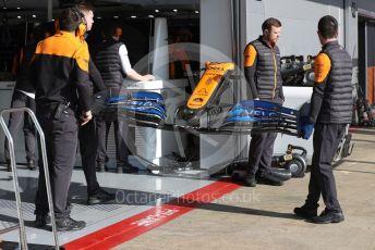 World © Octane Photographic Ltd. Formula 1 – F1 Pre-season Test 1 - Day 3. McLaren MCL35 – Carlos Sainz. Circuit de Barcelona-Catalunya, Spain. Friday 21st February 2020.