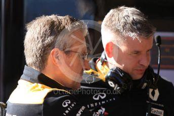 World © Octane Photographic Ltd. Formula 1 – F1 Pre-season Test 2 - Day 1. Pat Fry – Chassis Technical Director at Renault Sport Formula 1 Team. Circuit de Barcelona-Catalunya, Spain. Wednesday 26th February 2020.