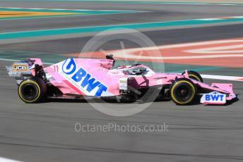 World © Octane Photographic Ltd. Formula 1 – F1 Pre-season Test 2 - Day 1. BWT Racing Point F1 Team RP20 - Sergio Perez. Circuit de Barcelona-Catalunya, Spain. Wednesday 26th February 2020.