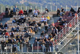 World © Octane Photographic Ltd. Formula 1 – F1 Pre-season Test 2 - Day 1. Fans in the VIP grandstand. Circuit de Barcelona-Catalunya, Spain. Wednesday 26th February 2020.