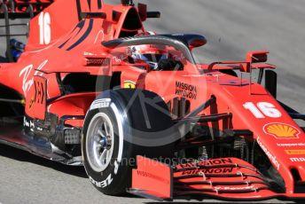 World © Octane Photographic Ltd. Formula 1 – F1 Pre-season Test 2 - Day 1. Scuderia Ferrari SF1000 – Charles Leclerc. Circuit de Barcelona-Catalunya, Spain. Wednesday 26th February 2020.
