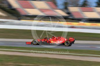 World © Octane Photographic Ltd. Formula 1 – F1 Pre-season Test 2 - Day 1. Scuderia Ferrari SF1000 – Sebastian Vettel. Circuit de Barcelona-Catalunya, Spain. Wednesday 26th February 2020.