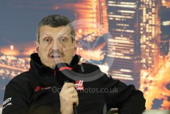 World © Octane Photographic Ltd. Formula 1 – F1 Pre-season Test 2 - Day 2 - Press Conference. Guenther Steiner - Team Principal of Haas F1 Team. Circuit de Barcelona-Catalunya, Spain. Thursday 27th February 2020.