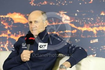 World © Octane Photographic Ltd. Formula 1 – F1 Pre-season Test 2 - Day 2 Press Conference. Franz Tost – Team Principal of Scuderia AlphaTauri Honda. Circuit de Barcelona-Catalunya, Spain. Thursday 27th February 2020.