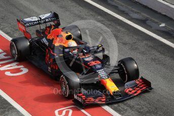 World © Octane Photographic Ltd. Formula 1 – F1 Pre-season Test 2 - Day 2. Aston Martin Red Bull Racing RB16 – Max Verstappenl. Circuit de Barcelona-Catalunya, Spain. Thursday 27th February 2020.
