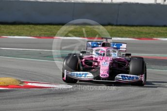 World © Octane Photographic Ltd. Formula 1 – F1 Pre-season Test 2 - Day 2. BWT Racing Point F1 Team RP20 – Lance Stroll. Circuit de Barcelona-Catalunya, Spain. Thursday 27th February 2020.