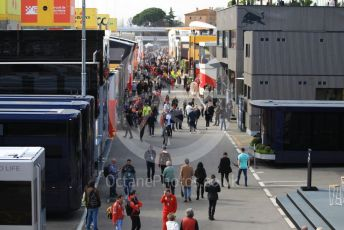 World © Octane Photographic Ltd. Formula 1 – F1 Pre-season Test 2 - Day 3. The paddock. Circuit de Barcelona-Catalunya, Spain. Friday 28th February 2020.