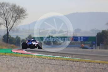 World © Octane Photographic Ltd. Formula 1 – F1 Pre-season Test 2 - Day 3. BWT Racing Point F1 Team RP20 - Sergio Perez. Circuit de Barcelona-Catalunya, Spain. Friday 28th February 2020.