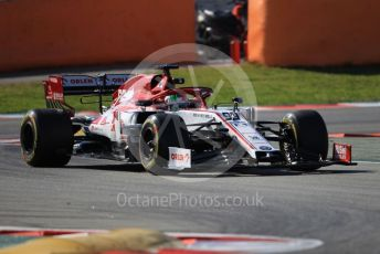 World © Octane Photographic Ltd. Formula 1 – F1 Pre-season Test 1 - Day 1. Alfa Romeo Racing Orlen C39 – Antonio Giovinazzi. Circuit de Barcelona-Catalunya, Spain. Wednesday 19th February 2020.