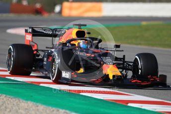 World © Octane Photographic Ltd. Formula 1 – F1 Pre-season Test 1 - Day 2. Aston Martin Red Bull Racing RB16 – Alexander Albon. Circuit de Barcelona-Catalunya, Spain. Thursday 20th February 2020.