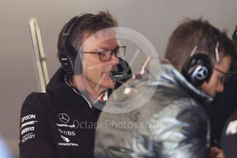 World © Octane Photographic Ltd. Formula 1 – F1 Pre-season Test 1 - Day 2. James Allison - Technical Director of Mercedes - AMG Petronas Motorsport. Circuit de Barcelona-Catalunya, Spain. Thursday 20th February 2020.