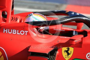 World © Octane Photographic Ltd. Formula 1 – F1 Pre-season Test 1 - Day 2. Scuderia Ferrari SF1000 – Sebastian Vettel. Circuit de Barcelona-Catalunya, Spain. Thursday 20th February 2020.