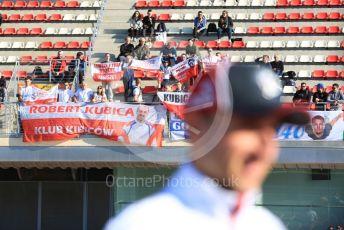 World © Octane Photographic Ltd. Formula 1 – F1 Pre-season Test 1 - Day 2. Alfa Romeo Racing Orlen C39 Reserve Driver – Robert Kubica. Circuit de Barcelona-Catalunya, Spain. Thursday 20th February 2020.