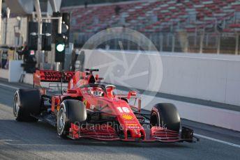 World © Octane Photographic Ltd. Formula 1 – F1 Pre-season Test 1 - Day 2. Scuderia Ferrari SF1000 – Charles Leclerc. Circuit de Barcelona-Catalunya, Spain. Thursday 20th February 2020.
