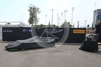 World © Octane Photographic Ltd. Formula 1 - Italian Grand Prix – FIA Formula 2 2018 Car Launch. Monza, Italy. Thursday 31st August 2017. Digital Ref: 1936LB2D7624