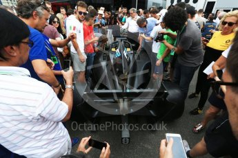 World © Octane Photographic Ltd. Formula 1 - Italian Grand Prix – FIA Formula 2 2018 Car Launch. Monza, Italy. Thursday 31st August 2017. Digital Ref: 1936LB2D7708