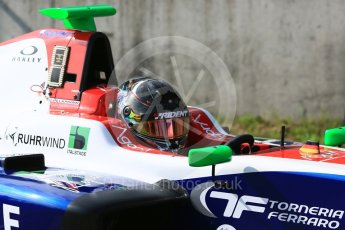 World © Octane Photographic Ltd. GP3 – Hungarian GP – Practice. Trident - David Beckmann. Hungaroring, Budapest, Hungary. Friday 27th July 2018.