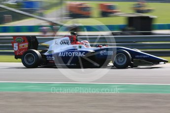 World © Octane Photographic Ltd. GP3 – Hungarian GP – Practice. Trident - Pedro Piquet. Hungaroring, Budapest, Hungary. Friday 27th July 2018.