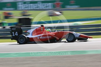 World © Octane Photographic Ltd. GP3 – Hungarian GP – Practice. Arden International - Gabriel Aubry. Hungaroring, Budapest, Hungary. Friday 27th July 2018.