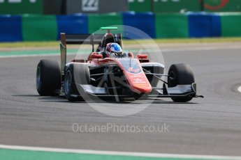 World © Octane Photographic Ltd. GP3 – Hungarian GP – Practice. ART Grand Prix – Jake Hughes. Hungaroring, Budapest, Hungary. Friday 27th July 2018.