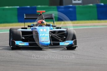 World © Octane Photographic Ltd. GP3 – Hungarian GP – Practice. Jenzer Motorsport – Jannes Fittje. Hungaroring, Budapest, Hungary. Friday 27th July 2018.
