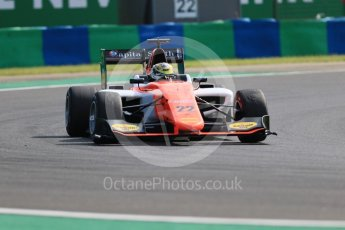 World © Octane Photographic Ltd. GP3 – Hungarian GP – Practice. MP Motorsport - Dorian Boccolacci. Hungaroring, Budapest, Hungary. Friday 27th July 2018.