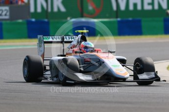 World © Octane Photographic Ltd. GP3 – Hungarian GP – Practice. Campos Racing - Simo Laaksonen. Hungaroring, Budapest, Hungary. Friday 27th July 2018.