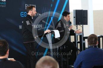 World © Octane Photographic Ltd. Formula 1 –. Mercedes AMG Petronas Motorsport AMG F1 W09 EQ Power+ launch, Toto Wolff (Team Principal and CEO) – Silverstone, UK. Thursday 22nd February 2018. Digital Ref : 2020CB1D7816