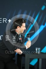 World © Octane Photographic Ltd. Formula 1 –. Mercedes AMG Petronas Motorsport AMG F1 W09 EQ Power+ launch, Toto Wolff (Team Principal and CEO) – Silverstone, UK. Thursday 22nd February 2018. Digital Ref : 2020CB1D7863
