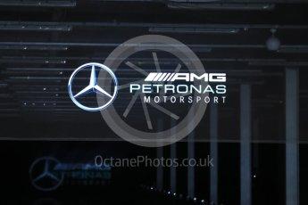 World © Octane Photographic Ltd. Formula 1 –. Mercedes AMG Petronas Motorsport AMG F1 W09 EQ Power+ launch – Silverstone, UK. Thursday 22nd February 2018. Digital Ref : 2020LB1D7983