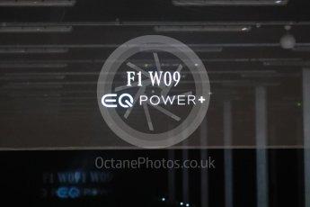 World © Octane Photographic Ltd. Formula 1 –. Mercedes AMG Petronas Motorsport AMG F1 W09 EQ Power+ launch – Silverstone, UK. Thursday 22nd February 2018. Digital Ref : 2020LB1D7985