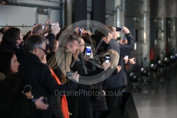 World © Octane Photographic Ltd. Formula 1 –. Mercedes AMG Petronas Motorsport AMG F1 W09 EQ Power+ launch – Silverstone, UK. Thursday 22nd February 2018. Digital Ref : 2020LB1D7991