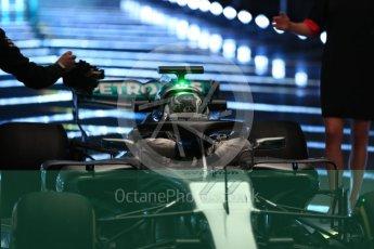 World © Octane Photographic Ltd. Formula 1 –. Mercedes AMG Petronas Motorsport AMG F1 W09 EQ Power+ launch, Valtteri Bottas – Silverstone, UK. Thursday 22nd February 2018. Digital Ref : 2020LB1D8062